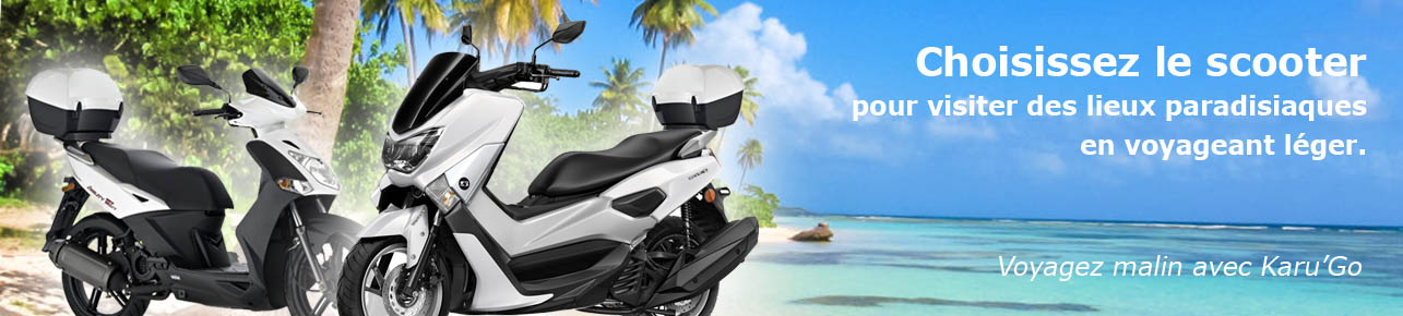 location scooter guadeloupe